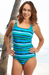 Harbour Island High Neck Mastectomy Swimsuit (S707) by Nicola Jane