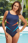 Kahului Chlorine Resistant Mastectomy Swimsuit (S717) by Nicola Jane