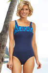 St Martin Chlorine Resistant Mastectomy Swimsuit (S718) by Nicola Jane