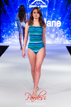 Harbour Island High Neck Swimsuit (S707) at London Fashion Week
