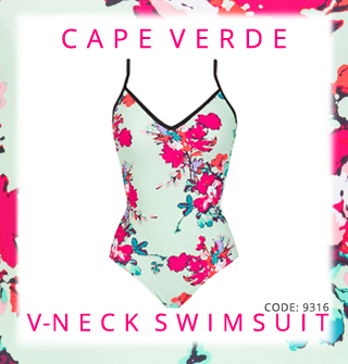 Cape Verde Thin Strap Swimsuit