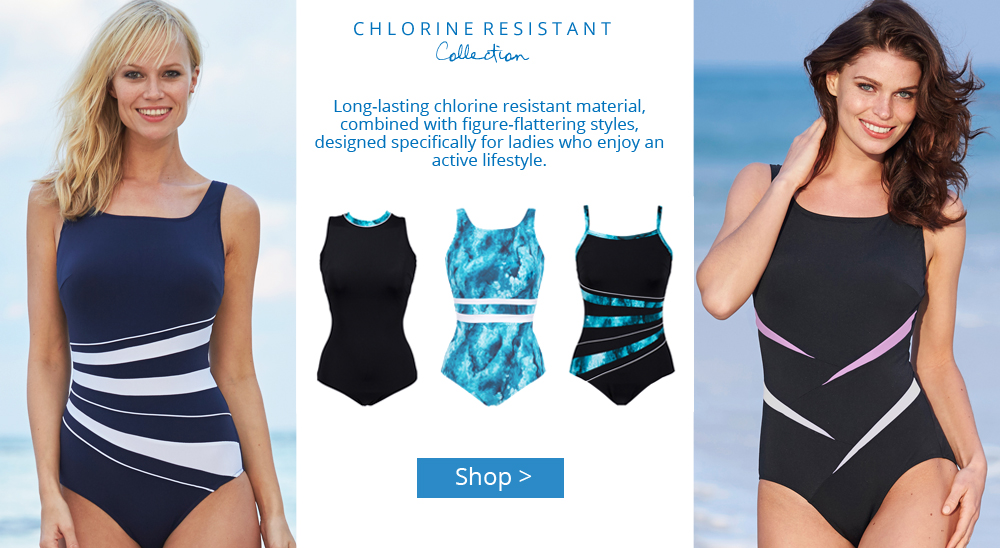 NEW Chlorine-Resistant Mastectomy Swimwear Range