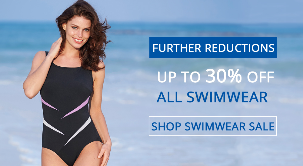 UP TO 30% OFF ALL SWIMWEAR