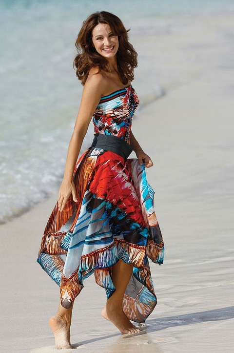 Indian Summer Matching Beach Dress by Sunflair (3094)