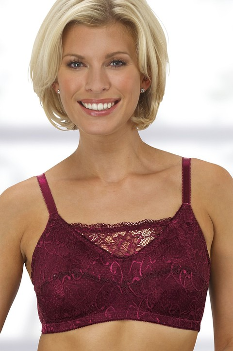Lace Camisole Bra by Nicola Jane (7002)