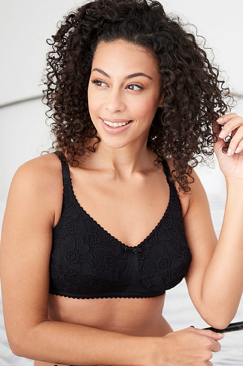 Soft Lace Comfort Bra by Nicola Jane (7013)
