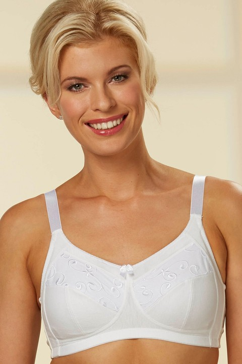Cotton Support Bra  by Nicola Jane (7050)