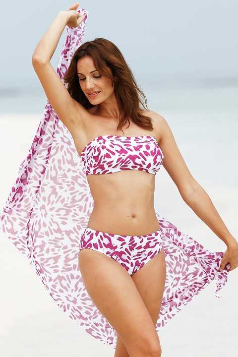 Matching Berry Burst Sarong by Nicola Jane (8217)