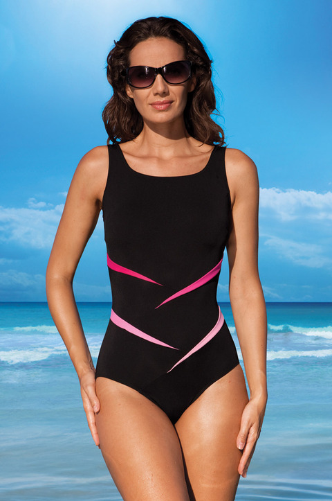 Pink Twist Swimsuit by Nicola Jane (9168)