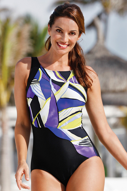 Laguna Bay Bias Cut Swimsuit (9250)