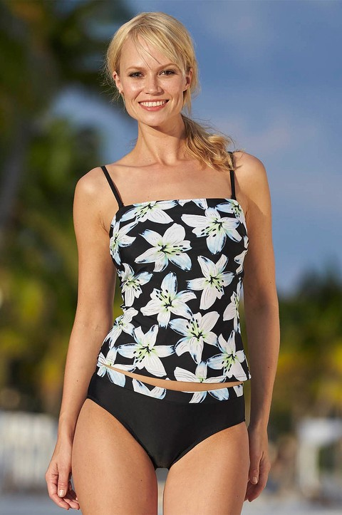 NEW! Halong Bay 3 Piece Bandeau Tankini