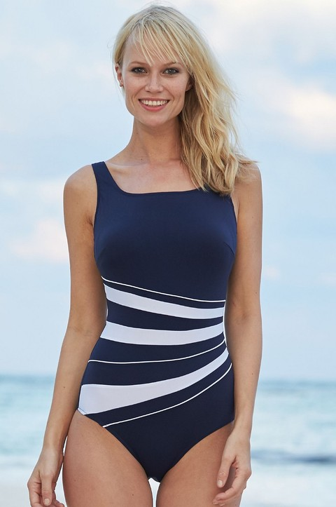 St Tropez Swimsuit by  Nicola Jane (9284)