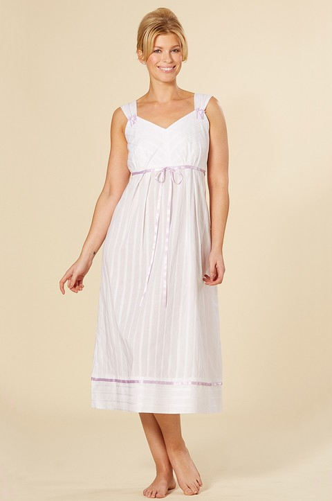 100% Cotton Nightdress with Pockets (CB02)