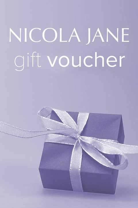 Nicola Jane Gift vouchers