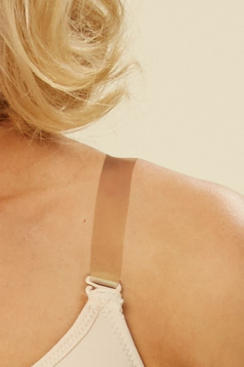 Transparent Bra Straps Set by Nicola Jane