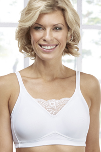 Beth Non-Padded Smooth Camisole Mastectomy Bra by Nicola Jane