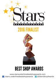 Underlines Stars Best Shop Awards 2016