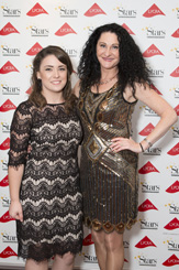 Maureen and Emily at the Stars Underlines Best Shop Awards