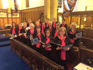 Kindred Spirits Breast Cancer Choir