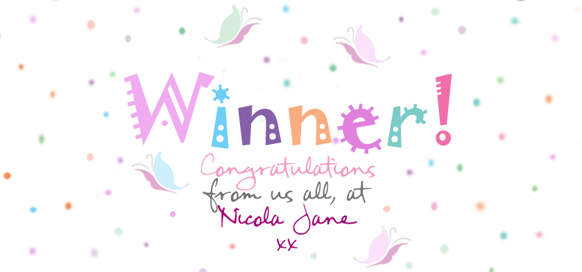 Nicola Jane Competition Winner
