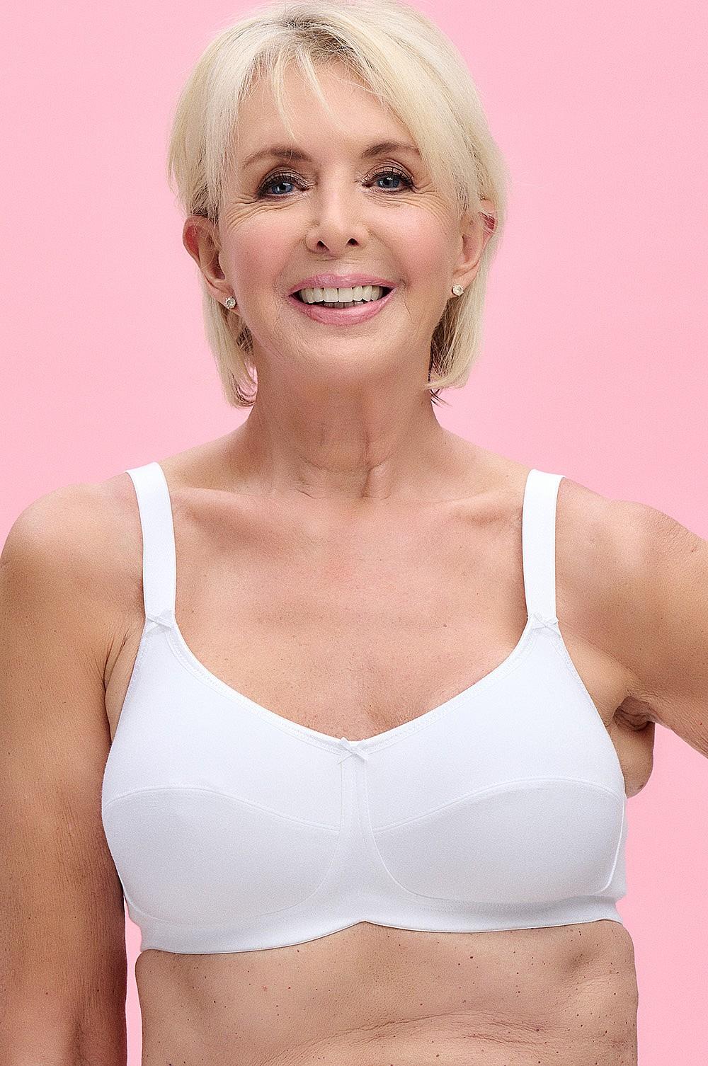 72055a4525e Anna Mastectomy   Post-Surgery Bra White