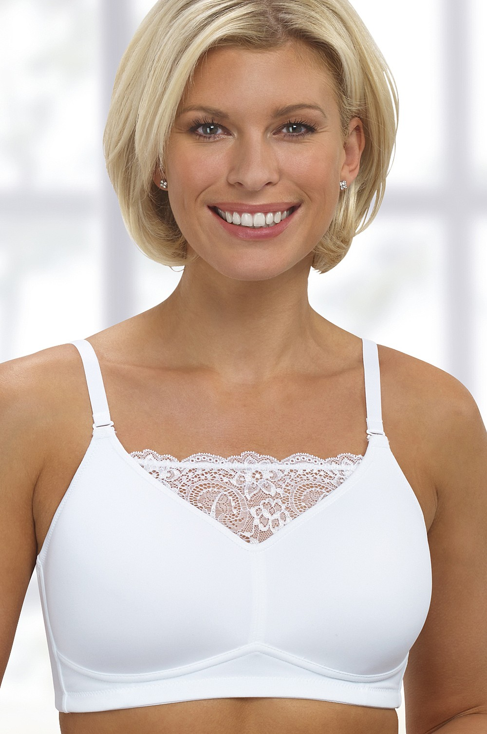 59e3dacf11c77 Lucy Camisole Mastectomy   Post-Surgery Bra White