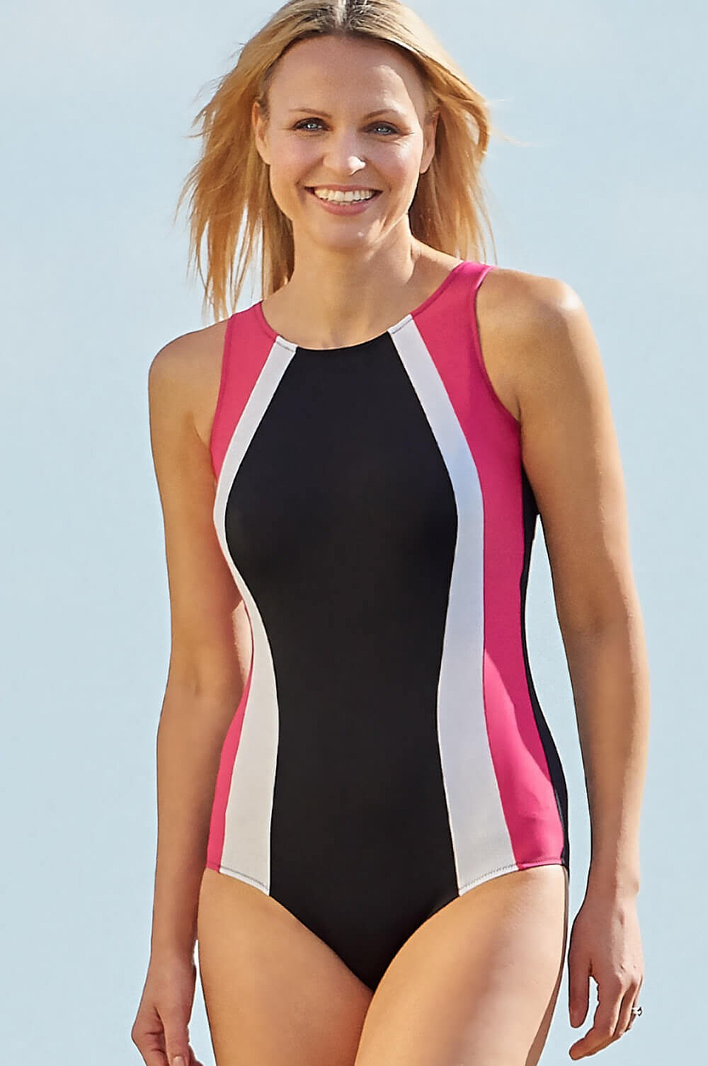 9de3a2c9e3 Malibu Chlorine Resistant Mastectomy Swimsuit | Nicola Jane
