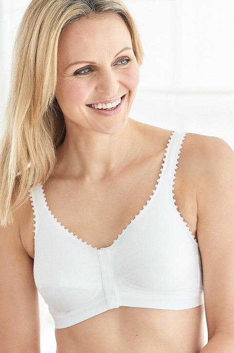 Laura Cotton Front Fastening Bra by Royce (1010)