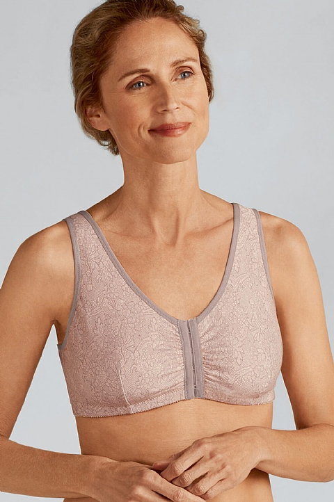 Frances Front Fastening Bra  by Amoena (2128)