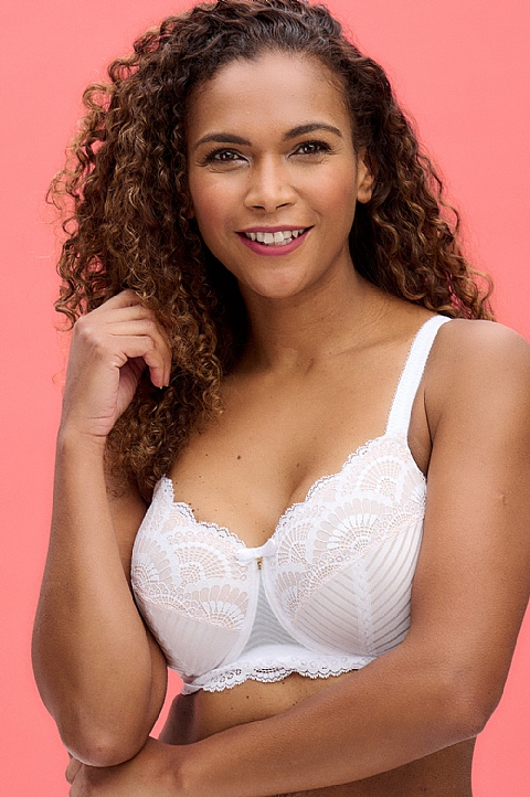 Karolina Underwired Lace Bra  by Amoena (44507)
