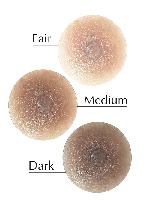 Projected Plus Silicone Nipple (5700)