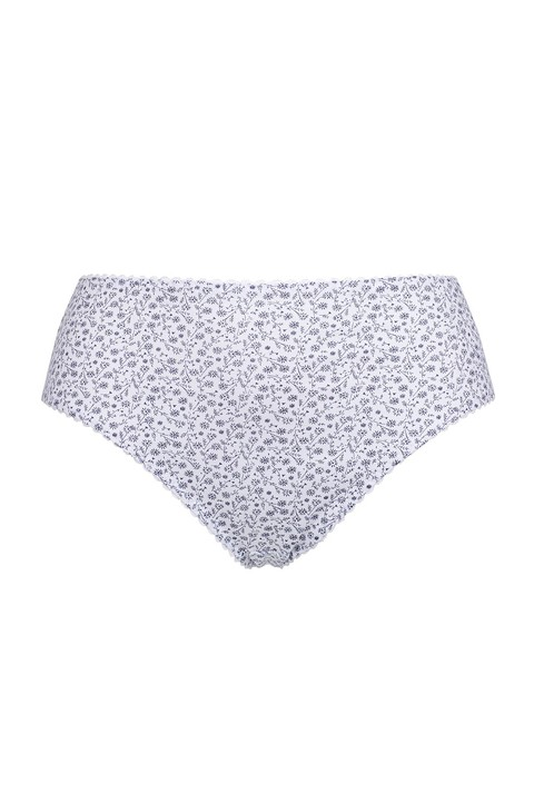 Ditsy Floral Cotton Briefs by  Nicola Jane (6054)