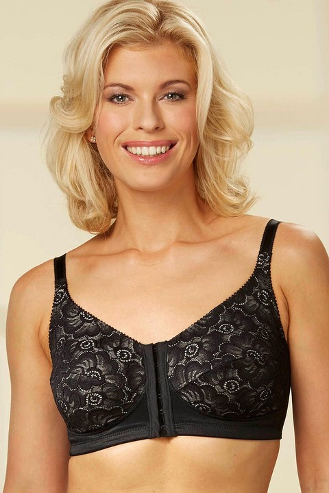 Soft Lace Front Fastening Bra by Nicola Jane (7053) 686c83607
