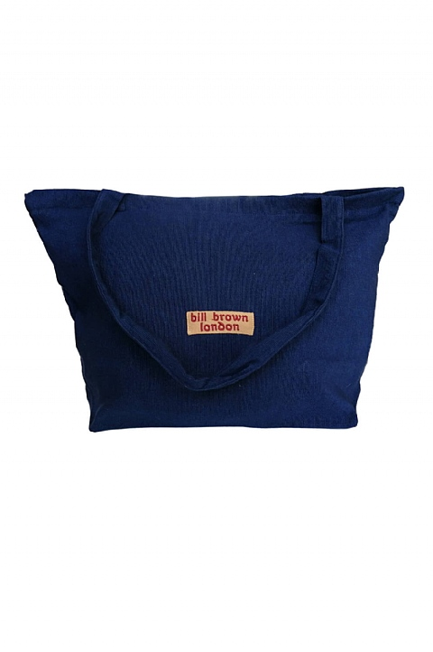 Lucy Navy Handloom Bag  by Bill Brown (BB03)