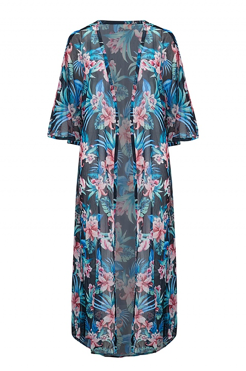 Hawaii Matching Kaftan by Nicola Jane (K918)