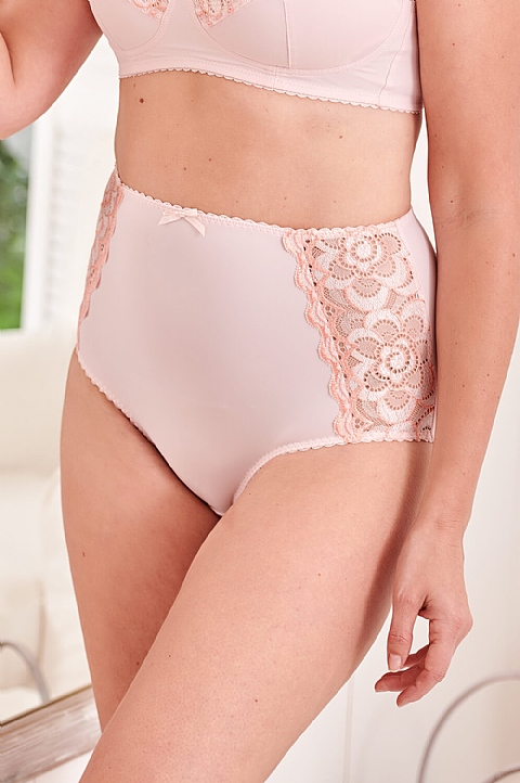 Faith Lace Matching Briefs by Nicola Jane (P021)