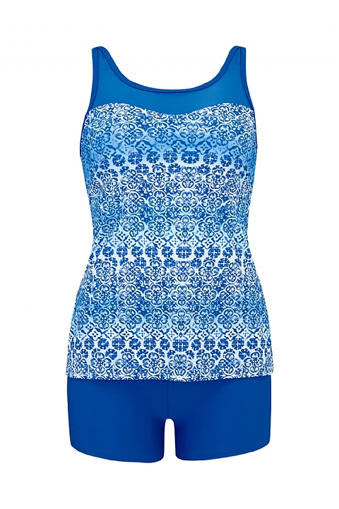 Kos High Neck Tankini (S212)