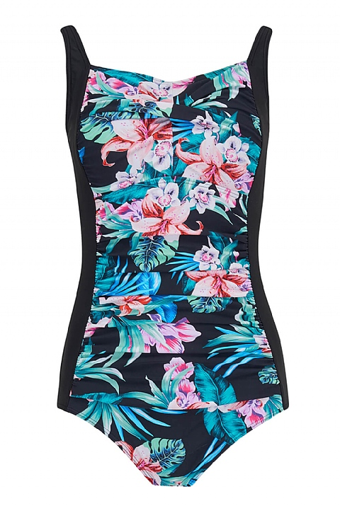 Hawaii Ruched Swimsuit By Nicola Jane (S903)